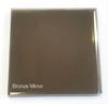 Glass cut to size bronze mirror